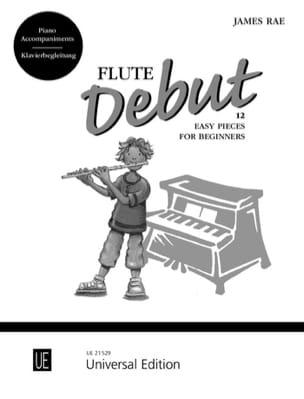 Flute Debut - Piano Accompagnement James Rae Partition laflutedepan
