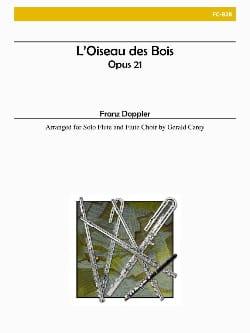 L'oiseau des Bois - Franz Doppler - Partition - laflutedepan.com