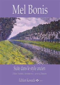 Mel Bonis - Suite In The Old Style - Sheet Music - di-arezzo.com