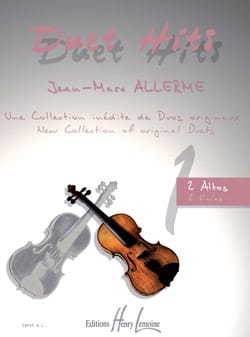 Jean-Marc Allerme - Duet Hits For 2 Altos - Sheet Music - di-arezzo.co.uk