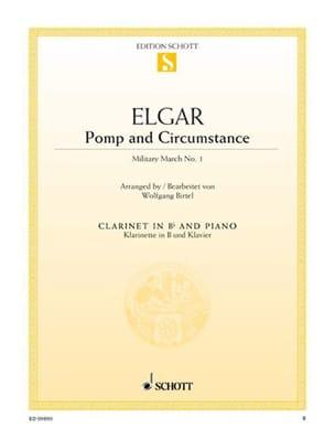 Pomp And Circumstance - Clarinette - Edward Elgar - laflutedepan.com