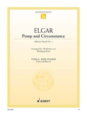 ELGAR - Pomp And Circumstance - Alto - Sheet Music - di-arezzo.co.uk