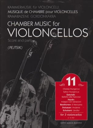 Chamber Music For Violoncellos - Volume 11 - Score + Parts laflutedepan
