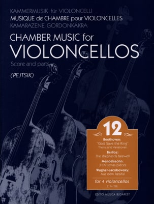 Chamber Music For Violoncellos - Volume 12 - Score + Parts - laflutedepan.com