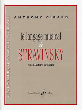 Anthony Girard - The Musical Language of Stravinsky - Book - di-arezzo.co.uk