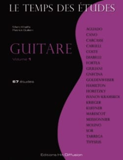 - Le Temps des Etudes Volume 1 - Guitare - Partition - di-arezzo.fr