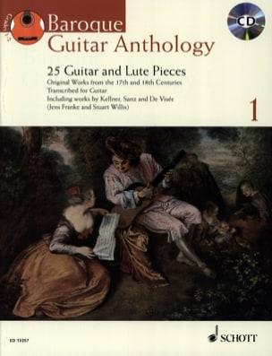 Baroque Guitar Anthology Volume 1 - Partition - laflutedepan.com
