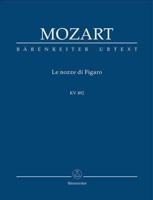 MOZART - The Marriage of Figaro - Sheet Music - di-arezzo.com