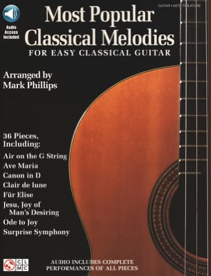 Most Popular Classic Melodies For Easy Classical Guitar - Sheet Music - di-arezzo.co.uk