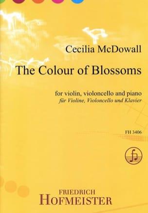 Dowall Cecilia Mac - The Colours Of Blossoms - Partition - di-arezzo.fr