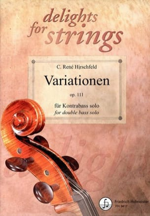 René Hirschfeld - Variationen Op.111 - Sheet Music - di-arezzo.co.uk