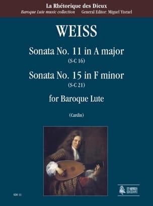 Silvius Leopold Weiss - Sonata No. 11 in the Maj. Sc16 and Sonata N ° 15 in F Maj. Lc21 - Sheet Music - di-arezzo.com