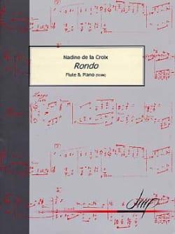 la Croix Nadine De - Rondo - Partition - di-arezzo.fr