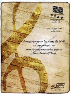 Arcangelo Corelli - Concerto For Christmas Night Flute Set - Sheet Music - di-arezzo.co.uk
