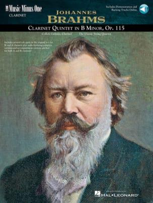 Clarinet Quintet en Si Mineur Opus 115 BRAHMS Partition laflutedepan