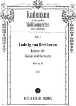 Cadences Concerto en Ré Maj. Op.61 de Beethoven laflutedepan