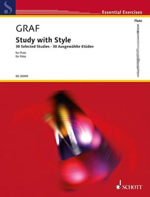 Friedrich Hartmann Graf - Study With Style - Partition - di-arezzo.fr