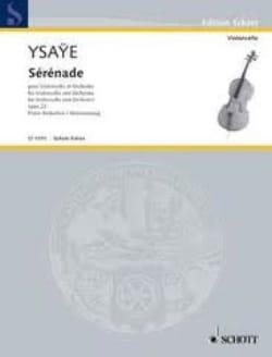 Sérénade Op. 22 - Eugène Ysaÿe - Partition - laflutedepan.com