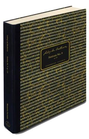 Symphonie N° 9 - Opus 125 - Fac Similé - laflutedepan.com