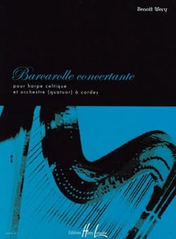 Benoit Wery - Barcarolle Concertante - Partition - di-arezzo.fr