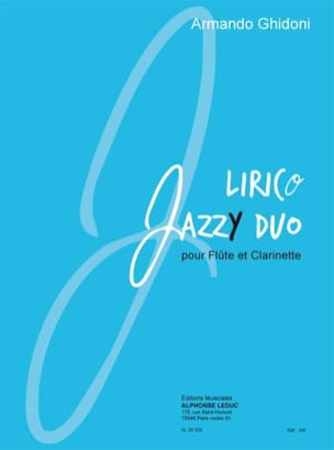 Lirico Jazzy Duo Armando Ghidoni Partition Duos - laflutedepan