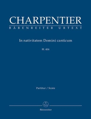 Marc-Antoine Charpentier - In Nativitatem Domini Canticum H 416 - Partition - di-arezzo.fr