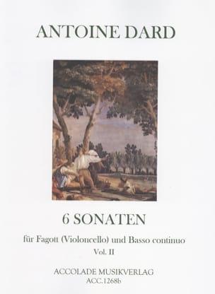 6 Sonates, Volume 2 Pour Basson Ou Violoncelle et Bc laflutedepan
