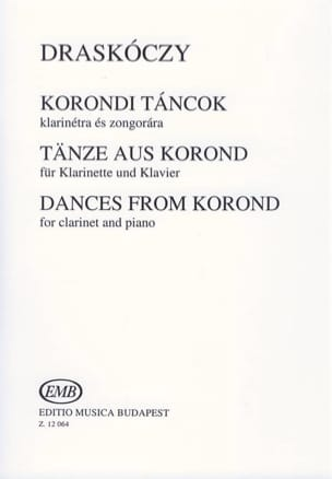 Laszlo Draskoczy - Dances From Korond - Partition - di-arezzo.fr