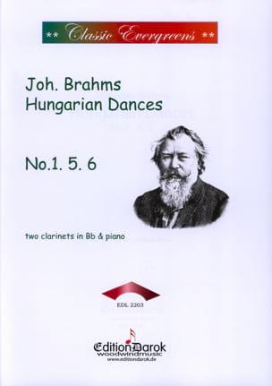 Hungarian Dances N°1, 5 & 6 BRAHMS Partition Trios - laflutedepan