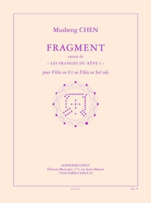 Musheng Chen - Fragment (2003) - Partition - di-arezzo.fr