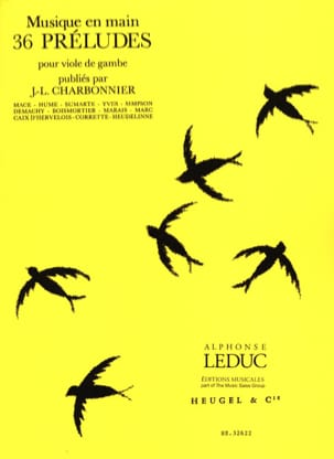 Jean-Louis Charbonnier - 36 Préludes - Partition - di-arezzo.fr