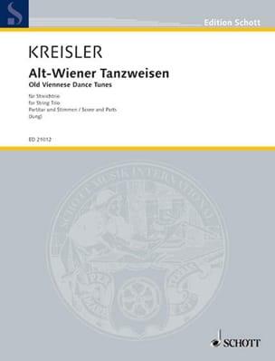 Alt Weiner Tanzweisen - trio KREISLER Partition Trios - laflutedepan