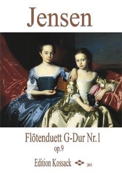 Niels Peter Jensen - Duo Pour Flûtes Op.9 N°1 en Sol Majeur - Partition - di-arezzo.fr