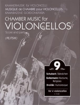 Arpad Pejtsik - Chamber Music For Violoncellos - Volume 9 - Score + Parts - Partition - di-arezzo.fr