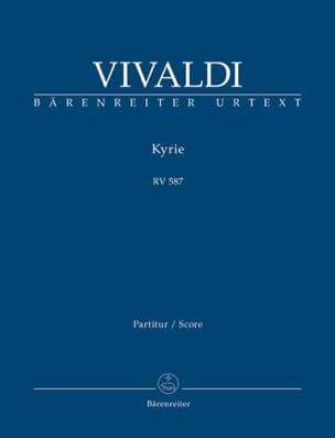 VIVALDI - Kyrie Rv 587 - Partition - di-arezzo.ch