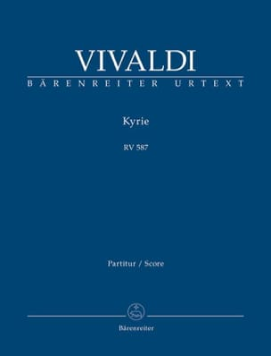 Antonio Vivaldi - Kyrie Rv 587 - Partition - di-arezzo.fr