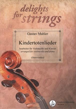 Gustav Mahler - Kindertotenlieder - Partition - di-arezzo.fr