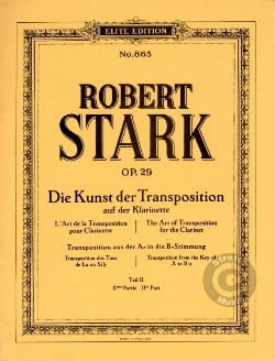 Robert Stark - The Kunst Der Transposition Teil 2 - Partitura - di-arezzo.es