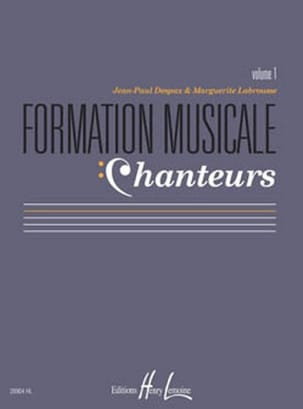 Marguerite LABROUSSE et Jean-Paul DESPAX - Musical Training Singers - Volume 1 - Sheet Music - di-arezzo.com