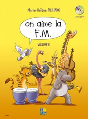 SICILIANO - On Aime la FM - Volume 6 - Partition - di-arezzo.fr