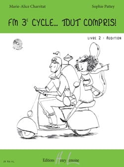 CHARRITAT - PATTEY - FM 3rd Cycle All Inclusive - Book 2 - Hearing - Sheet Music - di-arezzo.com