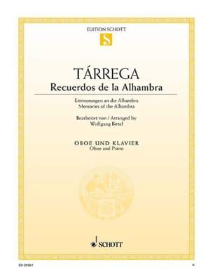Francesco Tarrega - Recuerdos de la Halhambra - Partition - di-arezzo.fr