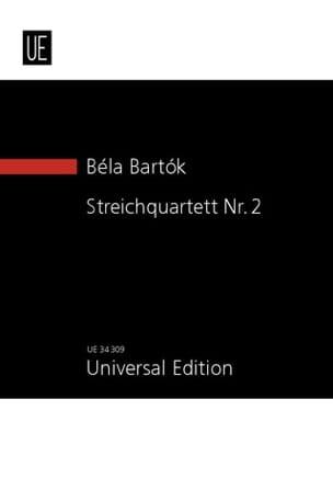Quatuor à Cordes N° 2 Opus 17 - Béla Bartok - laflutedepan.com