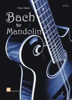olivier Waitze - Bach For Mandolin - Partition - di-arezzo.fr