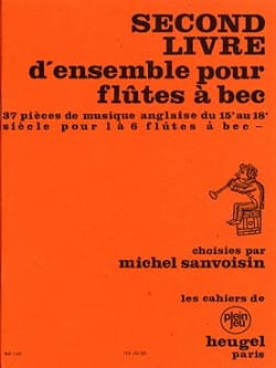 - 2nd Book For Flutes A Bec - Sheet Music - di-arezzo.com