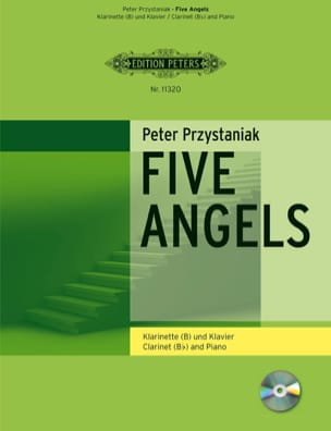 Peter Przystaniak - Five Angels for Clarinet - Partition - di-arezzo.fr
