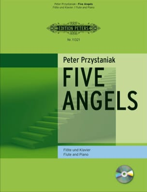 Peter Przytaniak - Five Angels for Flute - Partition - di-arezzo.fr
