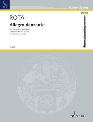 Allegro Danzante ROTA Partition Clarinette - laflutedepan