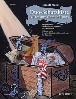 Duo-Schatzkiste Rudolf Mauz Partition Clarinette - laflutedepan