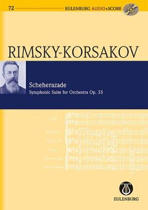Nicolaï Rimsky-Korsakov - Scheherazade Op.35 - Partition - di-arezzo.fr